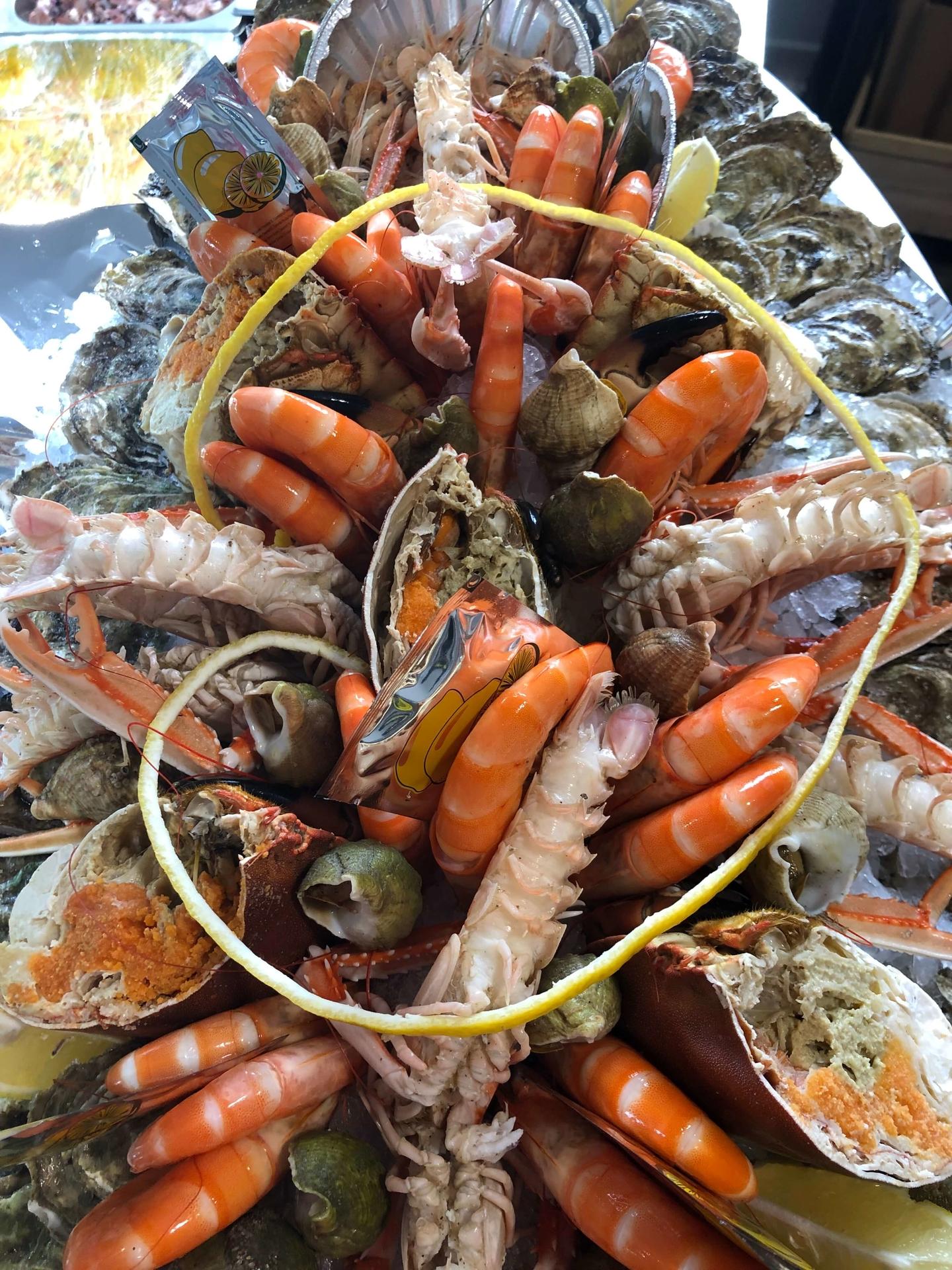 """Plateau """"LE CAPITAINE"""" - Crabe"""